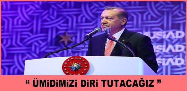Cumhurbaşkanı Erdoğan, SANDIK 'KOALİSYON' DEDİ