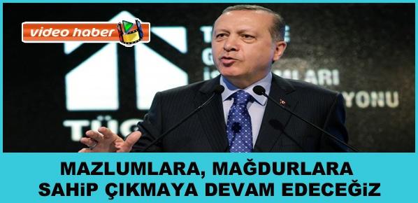 """Cumhurbaşkanı Erdoğan, """"SİZDEN PARA GELECEK DİYE 9 MİLYAR DOLARI HARCAMADIK"""""""