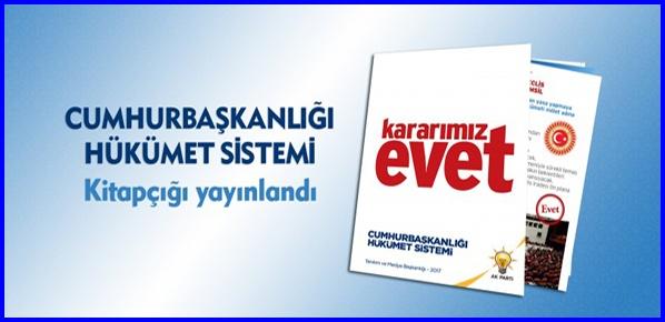 Cumhurbaşkanlığı Hükümet Sistemi kitapçığı yayınlandı