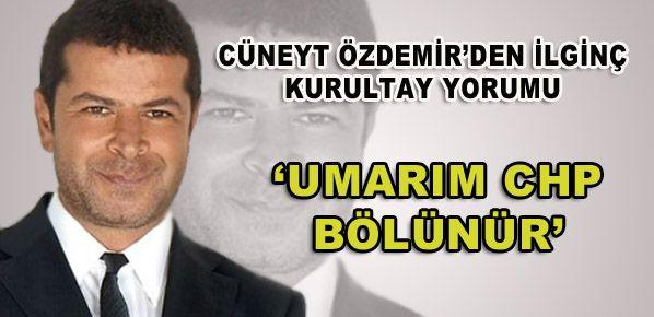 Cüneyt Özdemir'den ilginç açıklama