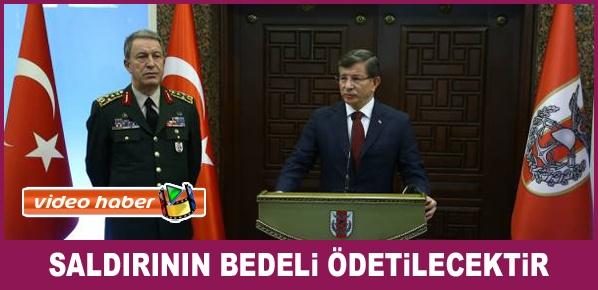 Davutoğlu, Ankara'daki terör saldırısına ilişkin açıklamalarda bulundu