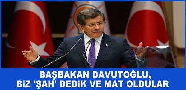 Davutoğlu, BÜTÇESİ FAZLA VEREN BİR DÖNEM YAŞIYORUZ
