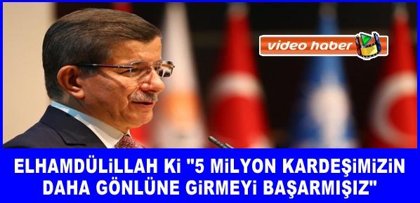 Davutoğlu, Siyasi geleceğinin yegane teminatı AK Parti'dir
