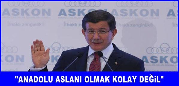 Davutoğlu, Türkiye çok büyük bir ülke