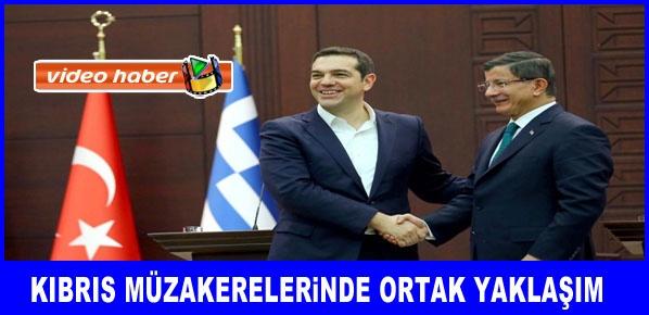 Davutoğlu, Yunanistan Başbakanı Çipras ile görüştü.