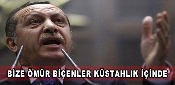 Erdoğan: Bize ömür biçenler küstahlık içinde