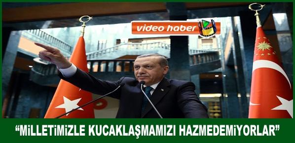 Erdoğan, Bize uzatılan hiçbir el karşılıksız kalmayacaktır,