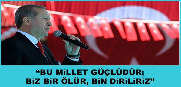 """Erdoğan, """"Çanakkale Hem İstiklal, Hem İstikbal Mücadelemiz Oldu"""""""
