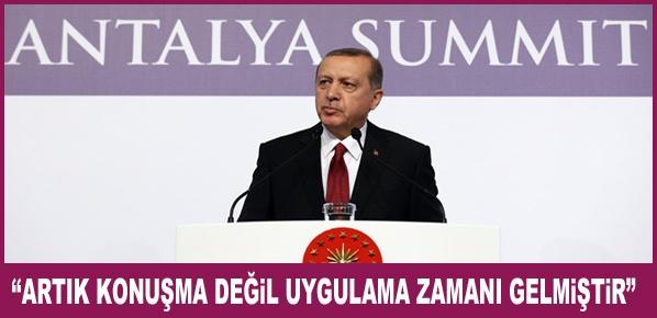 """Erdoğan, """"G-20 BİR ZENGİNLER KULÜBÜ DEĞİLDİR"""""""