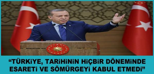 """Erdoğan, """"Gün, Mücadele ve Zalimlerin Üzerine En Sert Şekilde Gitme Günüdür"""""""