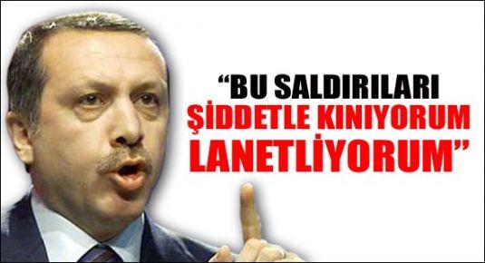Erdoğan: Lanetliyorum