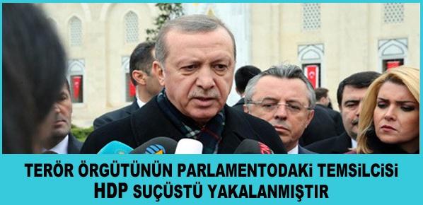 """Erdoğan,  """"Sınırlarımızdaki Gayrimeşru Oluşumu Tribünden İzlemeyeceğiz"""""""