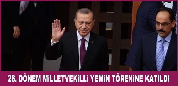 Erdoğan, TBMM'de Yemin Törenine Katıldı