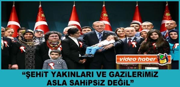"""Erdoğan, """"Tüm Terör Örgütleriyle Sonuna Kadar ve Tavizsiz Bir Mücadele İçindeyiz"""""""