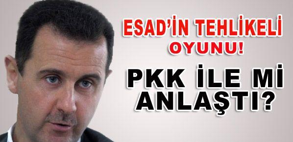 Esad'ın tehlikeli oyunu!