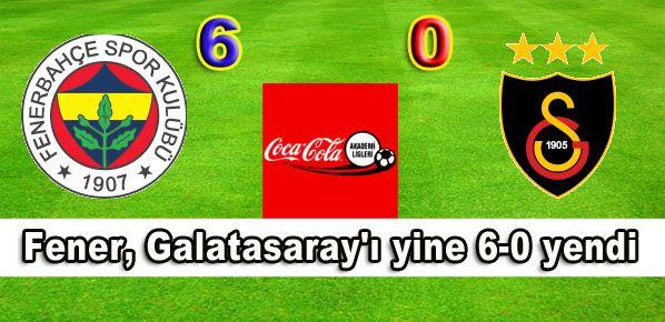 Fener, Galatasaray'ı yine 6-0 yendi