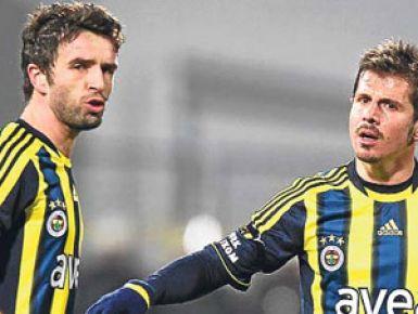 Fenerbahçe'de Gökhan ve Emre şoku