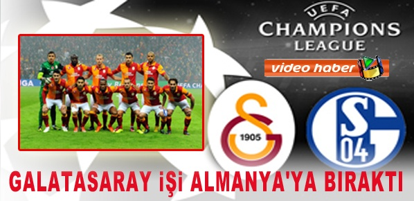 Galatasaray işi Almanya'ya bıraktı.... (1 - 1)