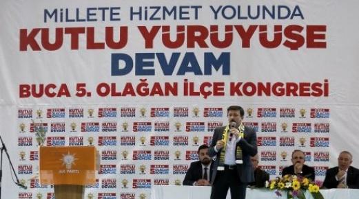 Genel Başkan Yardımcısı Hamza Dağ, Buca 5. Olağan İlçe Kongresine katıldı.