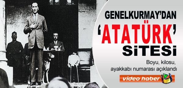 Genelkurmay'dan 'Atatürk' sitesi
