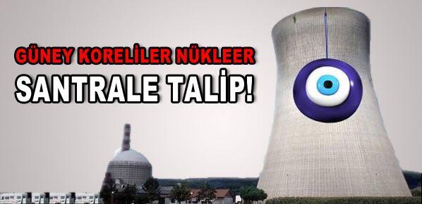 Güney Koreliler nükleer santrale talip