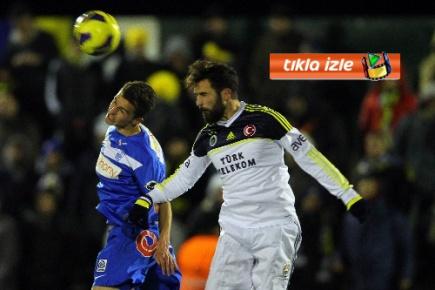 Hazırlık maçında Fenerbahçe, Genk'le 1 - 1 berabere kaldı