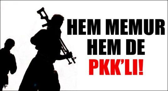 'Hem memurum hem PKK'lı'