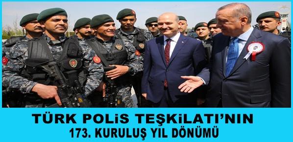 İçişleri Bakanı Soylu ve beraberindeki polisleri kabul etti