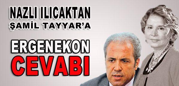 Ilıcak'tan Şamil Tayyar'a viskili cevap