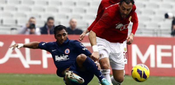 İstanbul BBSK'ya son dakika golü teselli oldu...