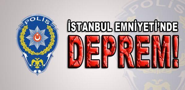 İstanbul Emniyet'te deprem