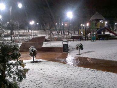 İstanbul'a gece boyunca kar yağdı