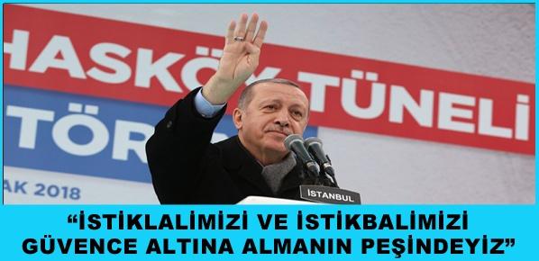 İstanbul'a hizmet etmekten iftihar ediyorum