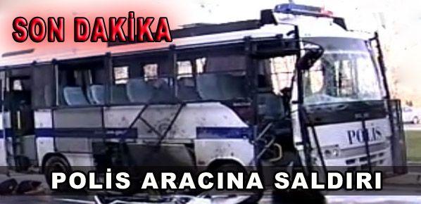 Polise motosikletli bombayla saldırı