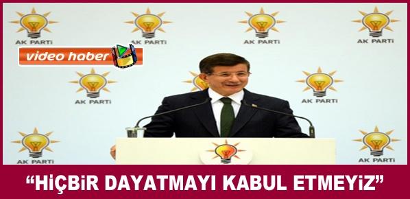 Başbakan Davutoğlu, İyi niyetle, samimiyetle yaklaşacağız.