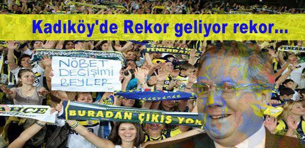 Kadıköy'de Rekor geliyor rekor...