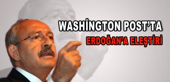 Kılıçdaroğlu Washington Post'ta köşe yazdı