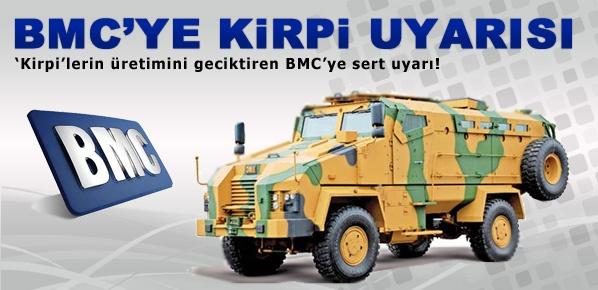 Kirpi için BMC'ye sert bir uyarı geldi
