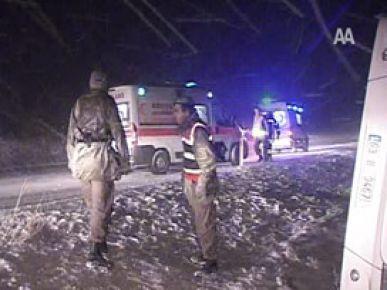 Konya'da otobüs devrildi: 1 ölü 20 yaralı