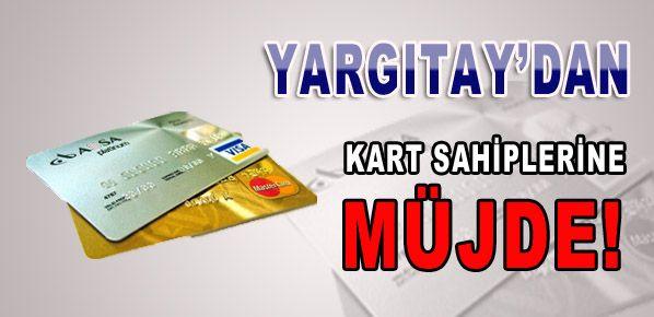 Kredi kartı kullanıcılarını sevindirecek haber