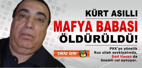 Kürt asıllı mafya babasına Moskova'da infaz