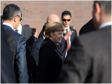 Merkel, Gaziantep'te