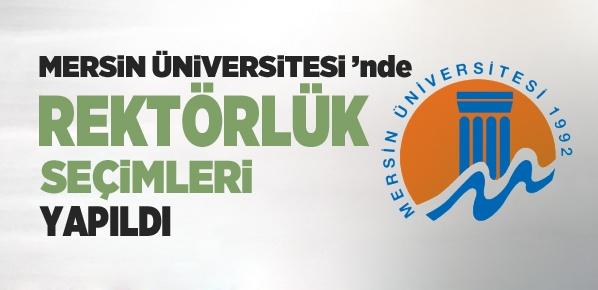 Mersin Üniversitesi'nde rektörlük seçimleri yapıldı