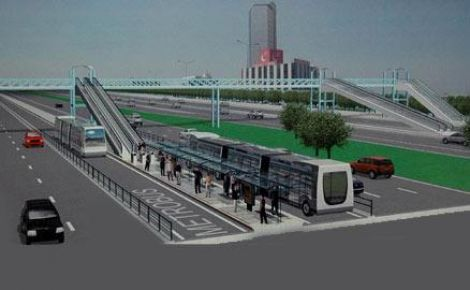 Metrobüs durakları çarşıya dönüşecek