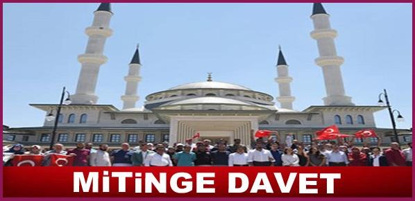 MİTİNGE DAVET