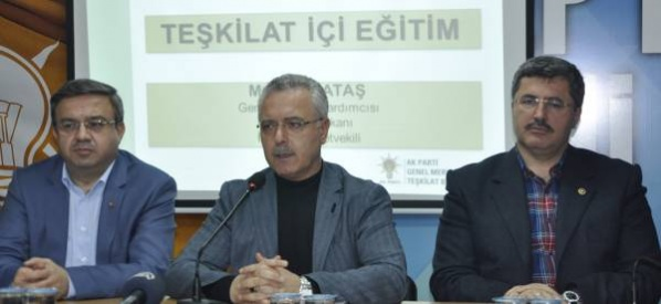 """Mustafa Ataş,  """"Onlar ne yaparlarsa yapsın, biz korkmuyoruz, korkmayacağız"""""""