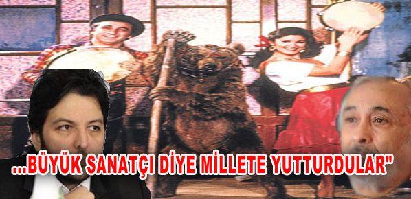 """Nihat Doğan ''Darbukayla ayı oynatanları büyük sanatçı diye millete yutturdular"""""""