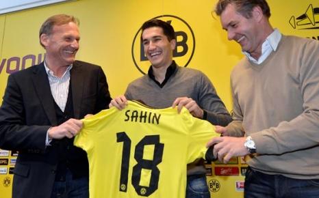Nuri Şahin Borussia Dortmund'da