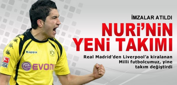 Nuri Şahin'in yeni takımı belli oldu