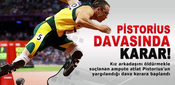 Oscar Pistorius kararını açıkladı!